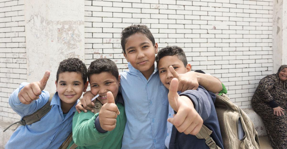 cairo egypt kids