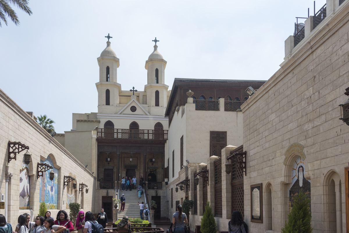 hanging church cairo coptic