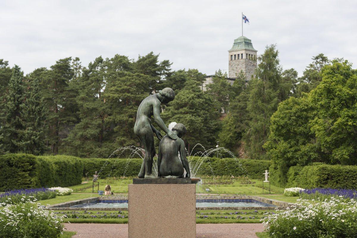 kultaranta gardens house