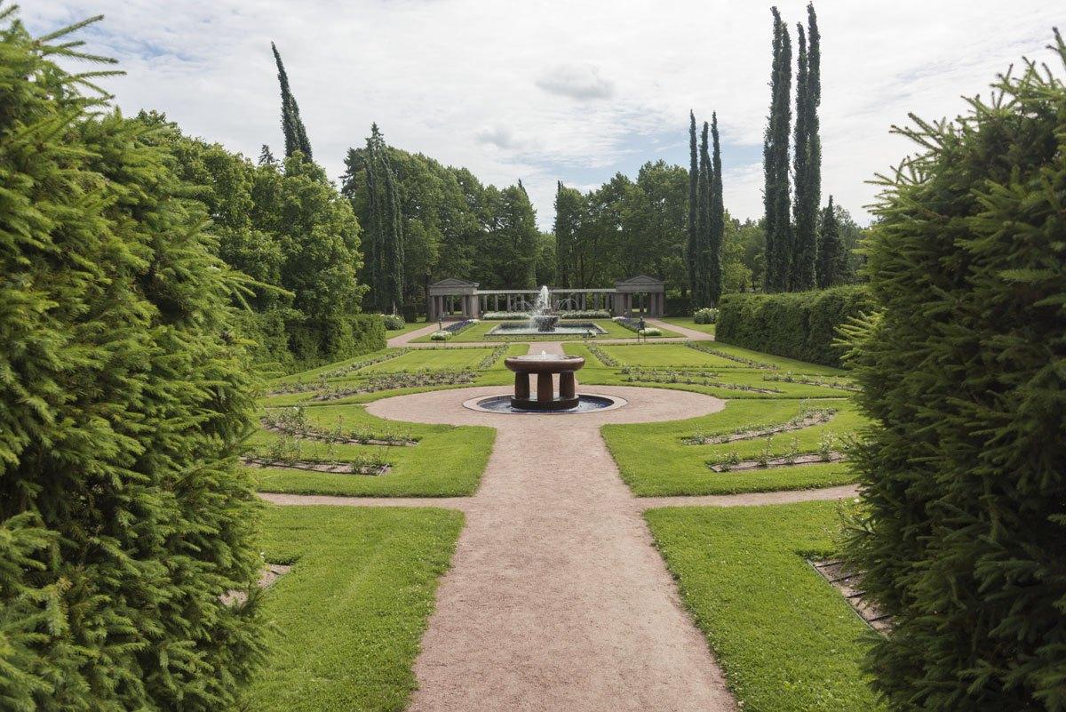 kultaranta gardens perspective