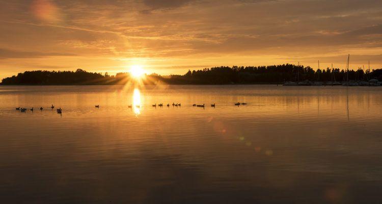 visit naantali sunset