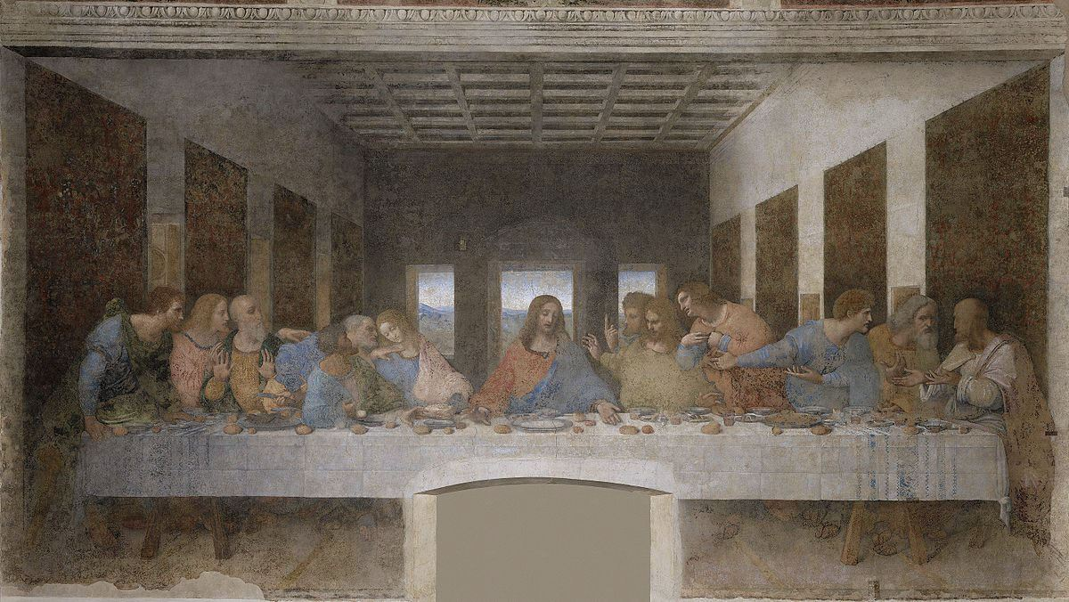 last supper milan