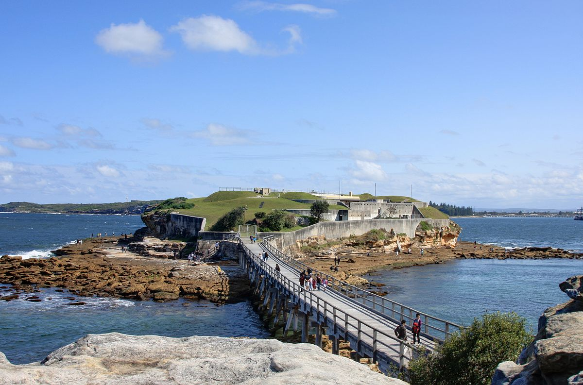 what to do in sydney bare island 1