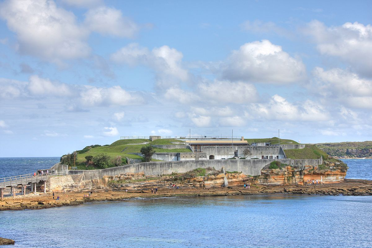 what to do in sydney bare island 2