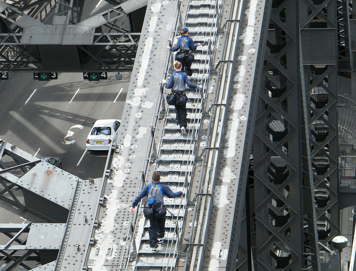 what to do in sydney bridge climb