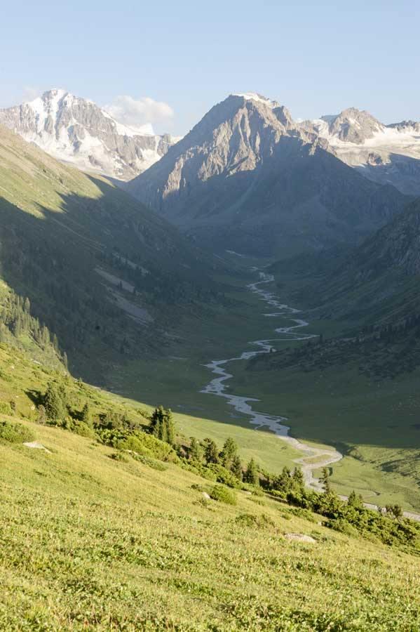 kyrgyzstan turgen ak suu glacier