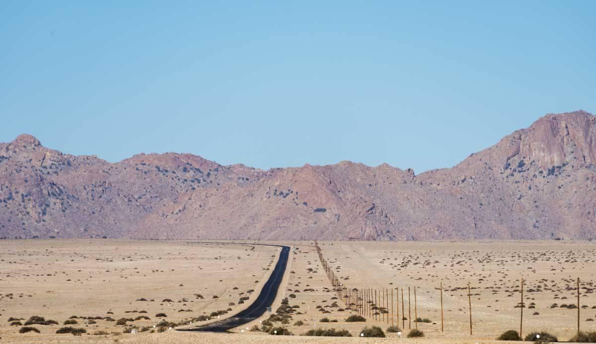 namibia desert view