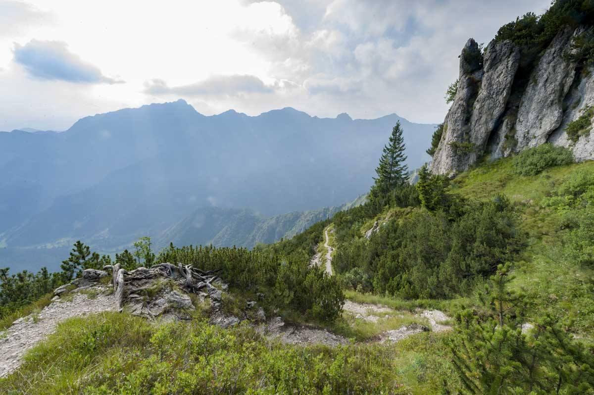 mountain view garda trentino summer