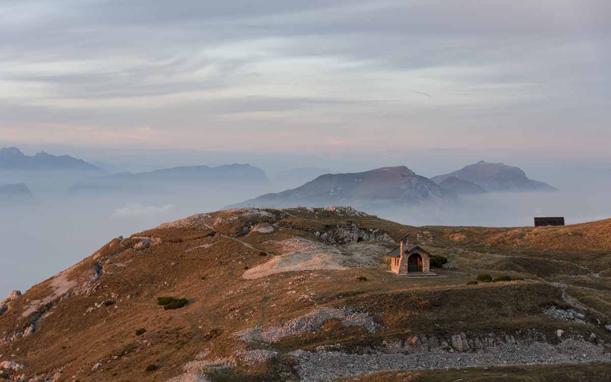 monte altissimo sunset