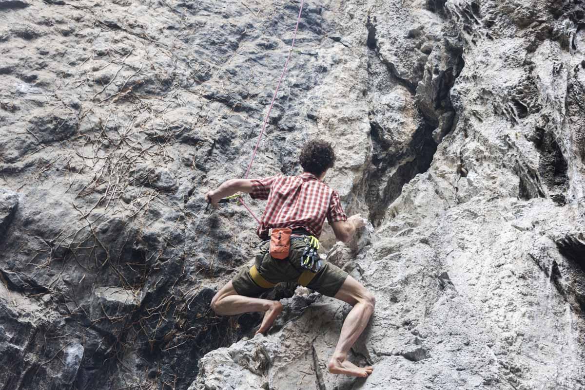 adam ondra climbing barefoot