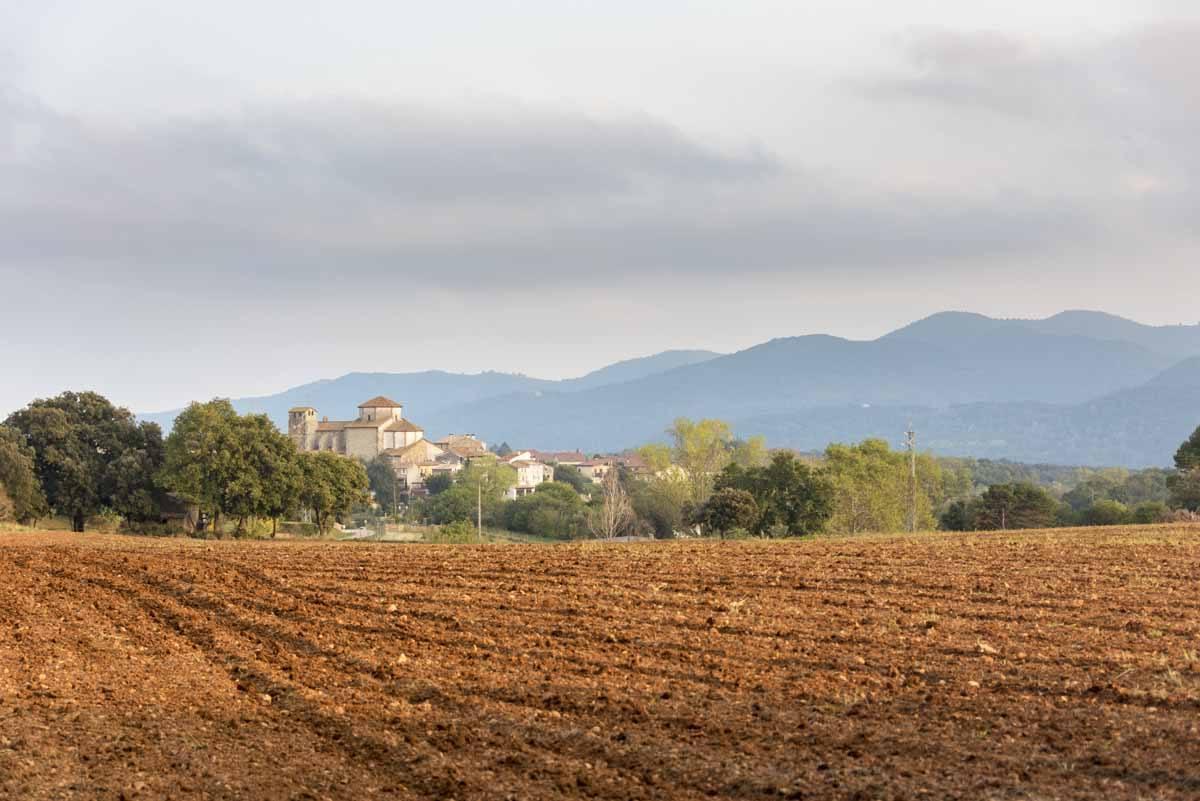 pyrenees girona farmland