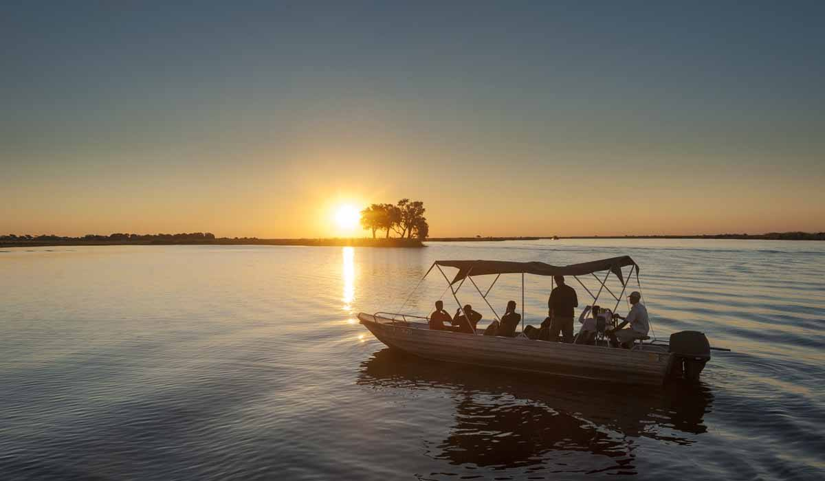 things to do in botswana sunset