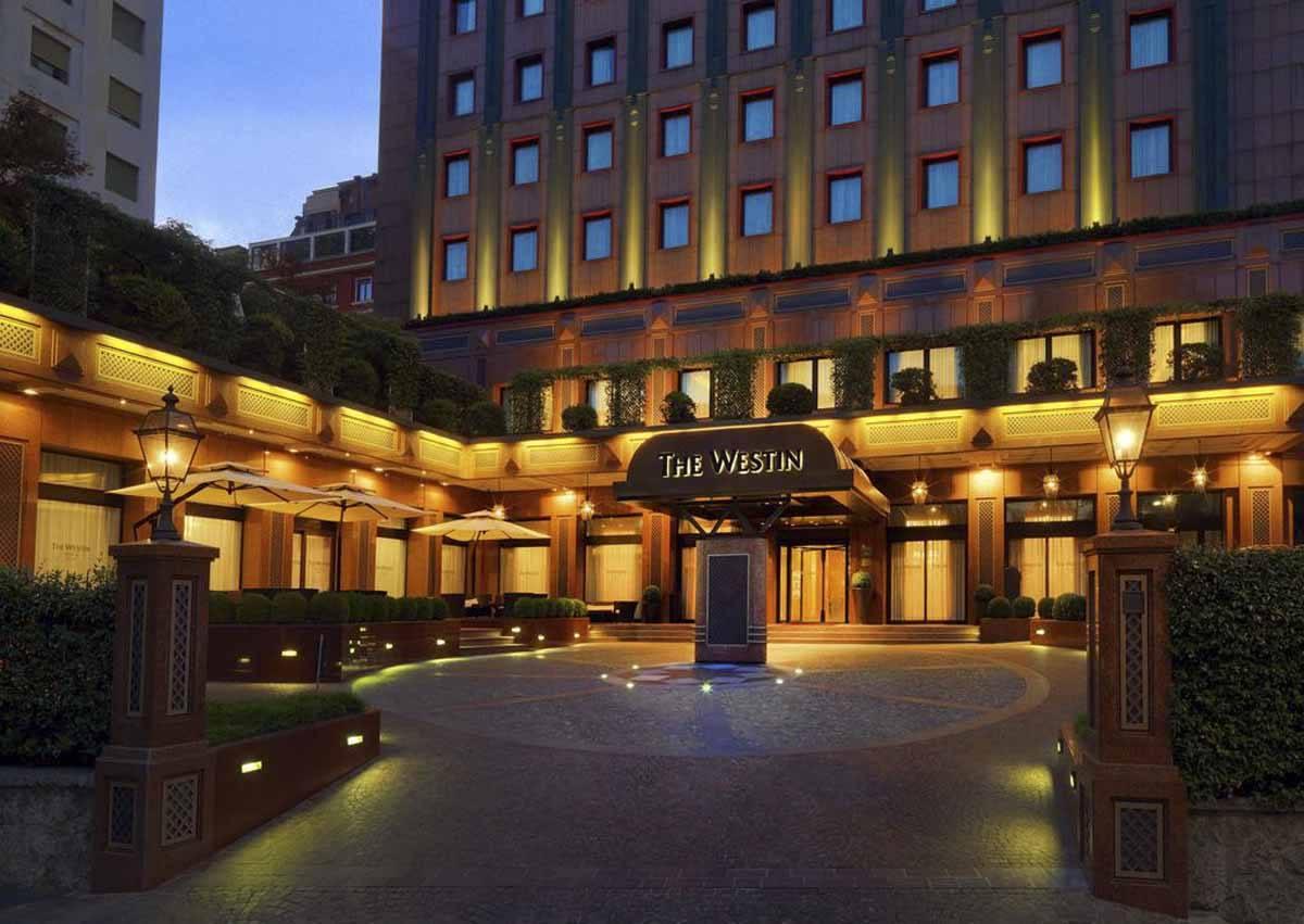 Westin hotel 5 star milan