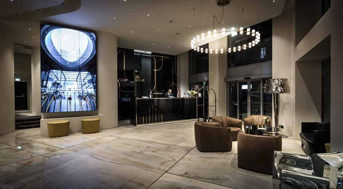 the square hotel best luxury milan