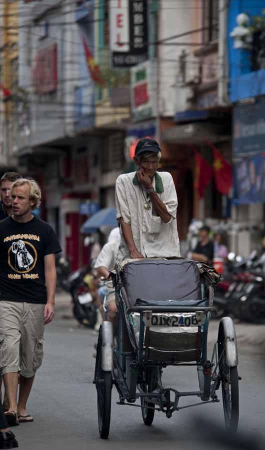 HCMC rickshaw