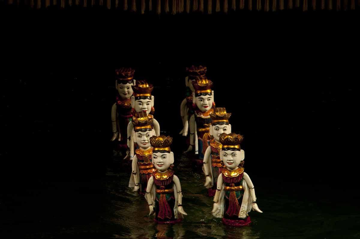 Hanoi water puppets 2