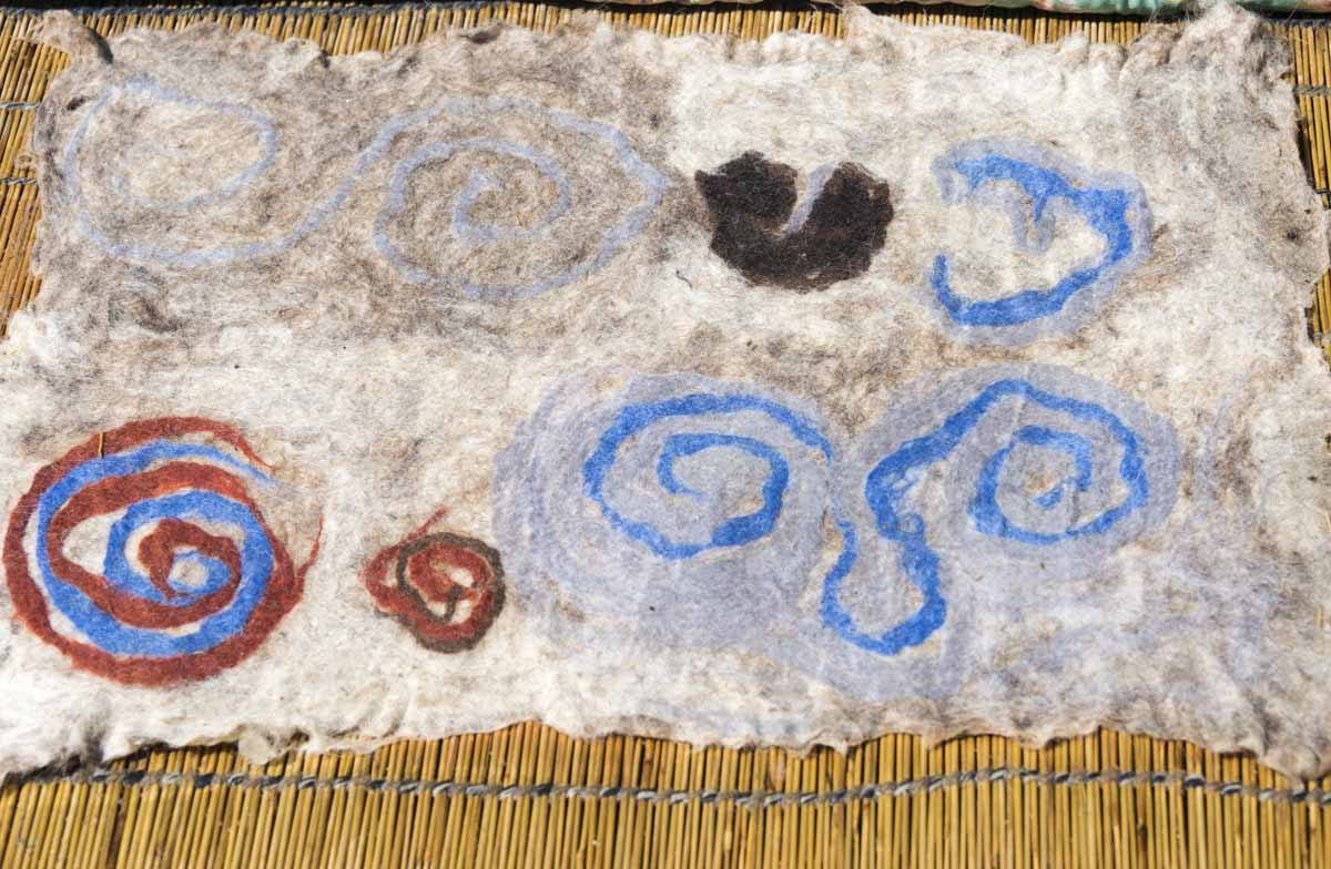 ala kiyiz carpet kyrgyzstan