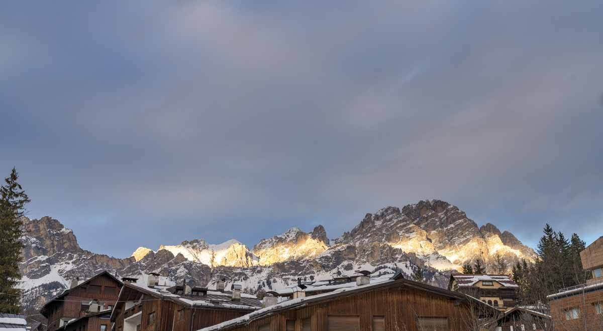 cortina sunset light