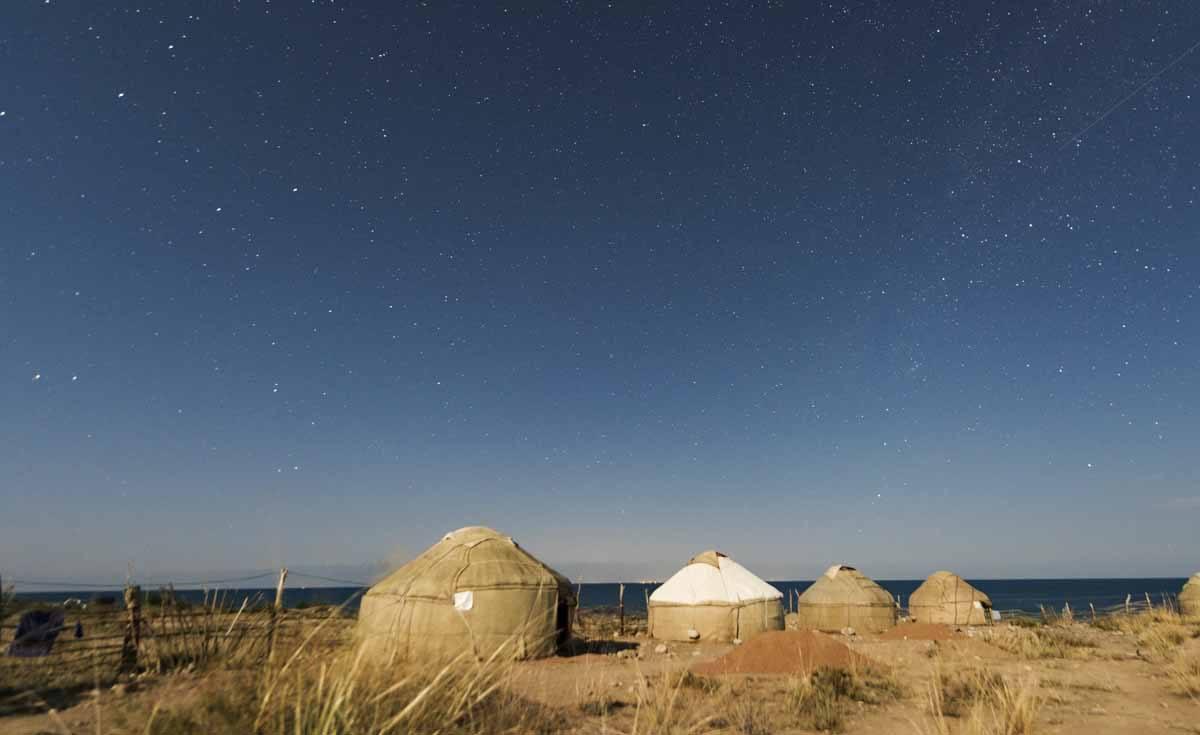 kyrgyzstan yurt camp stars