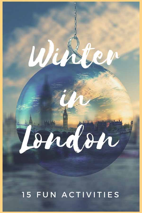 winter in london pin
