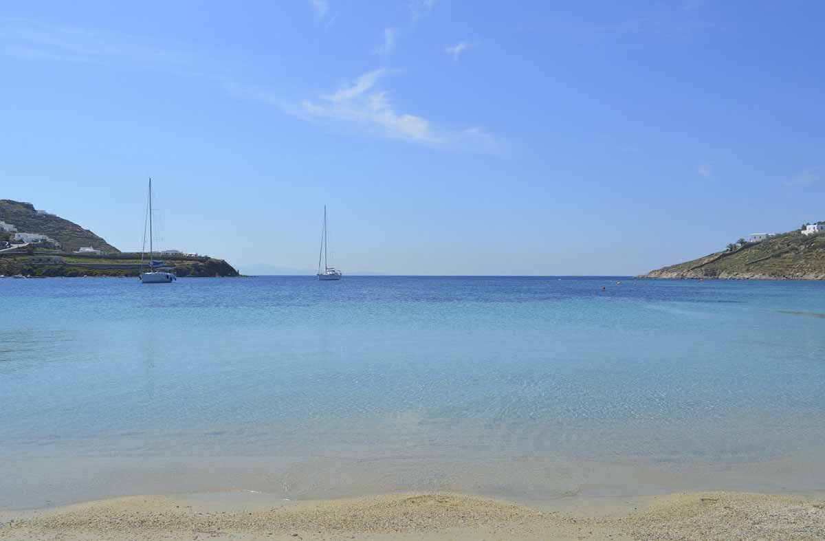 best beaches mykonos