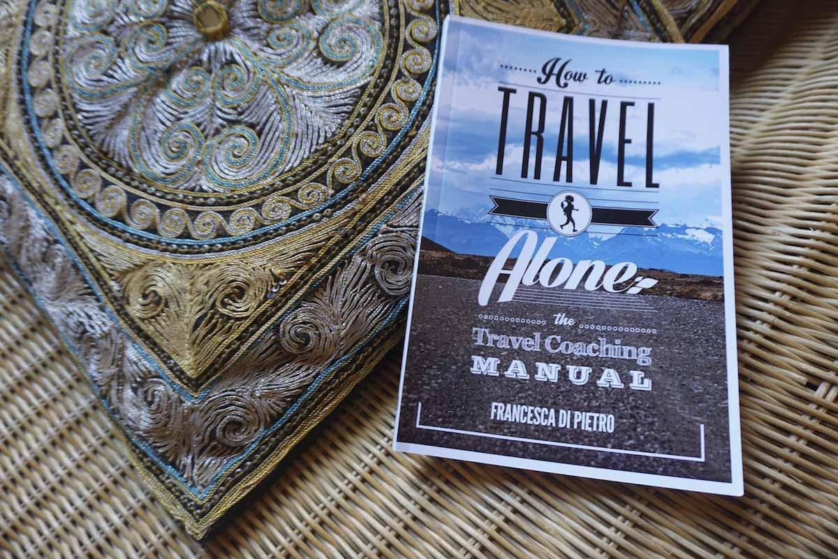 how to travel alone book