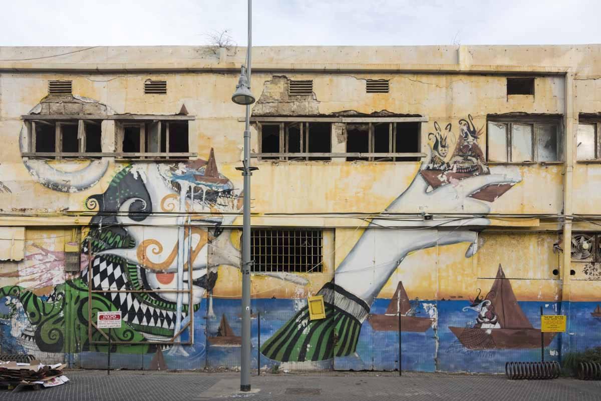 jaffa street art tel aviv