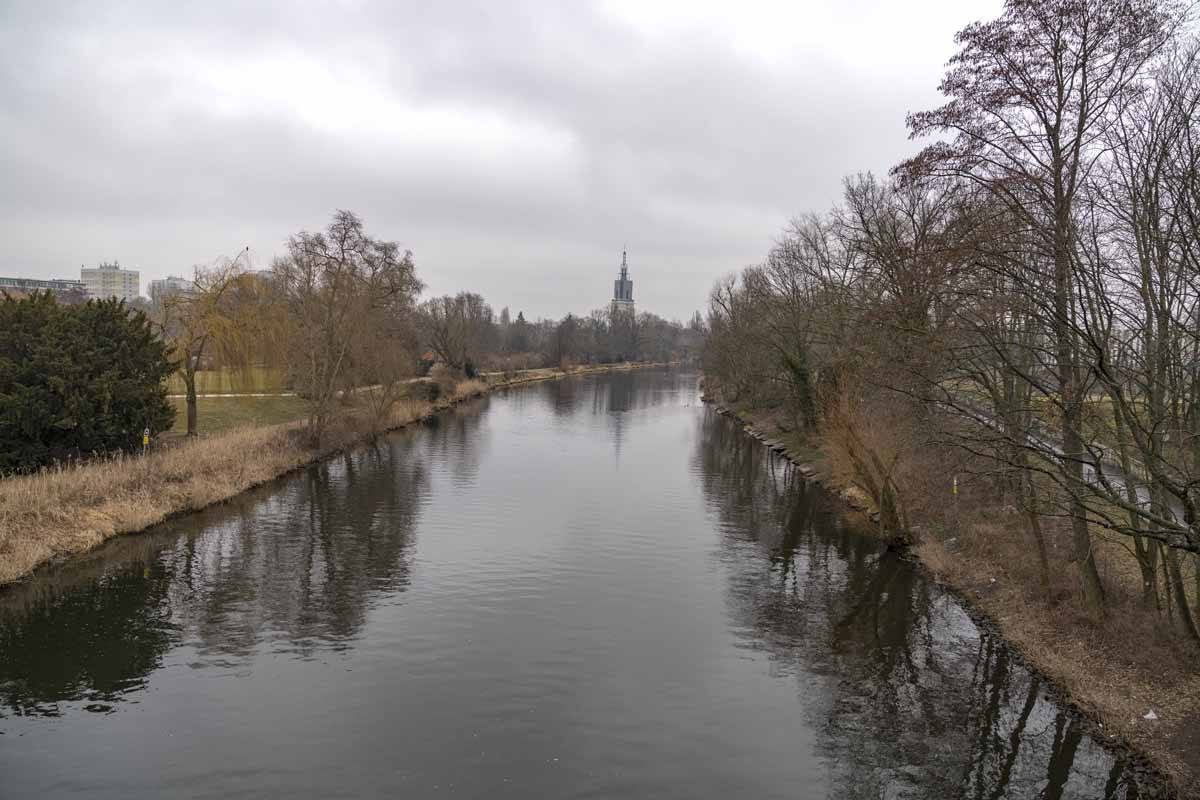 potsdam river winter