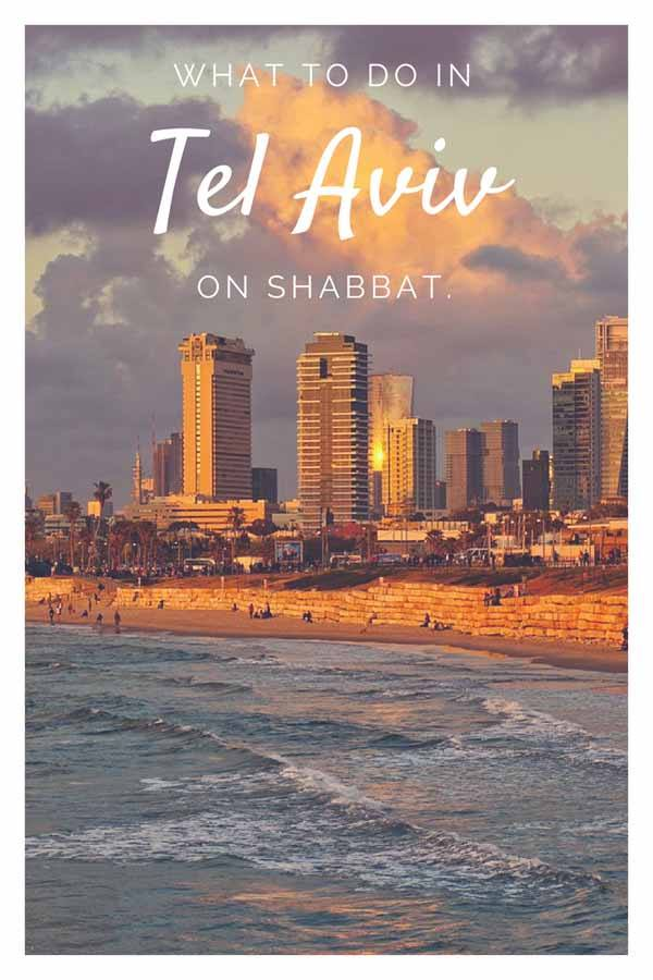 shabbat in tel aviv pin