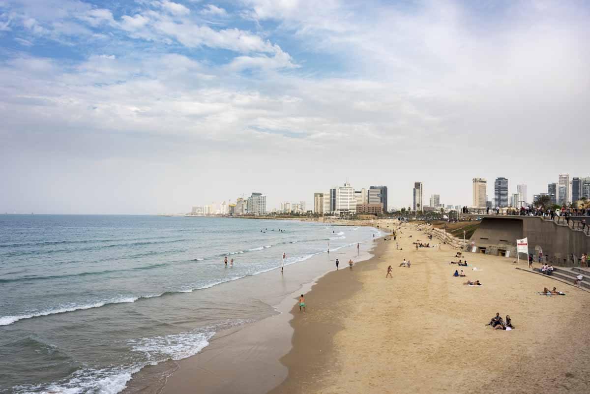 tel aviv shabbat beach