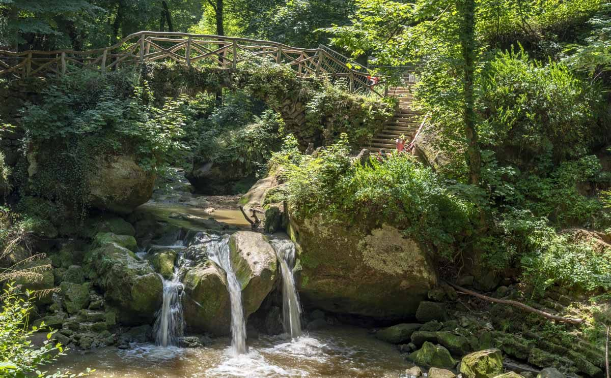 Schiessentumpel mullerthal waterfall