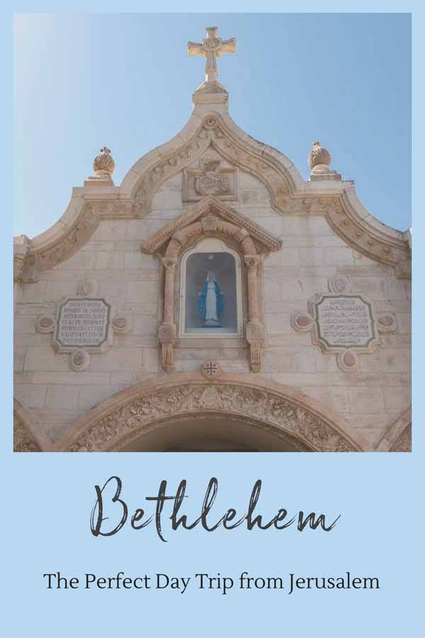bethlehem jerusalem day trip pin