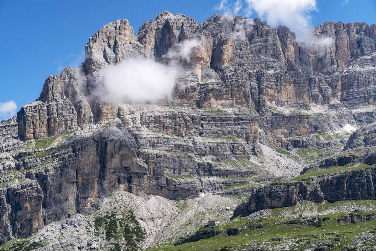 brenta dolomites hiking 3 days