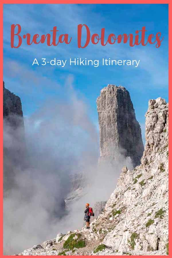 brenta hiking pin