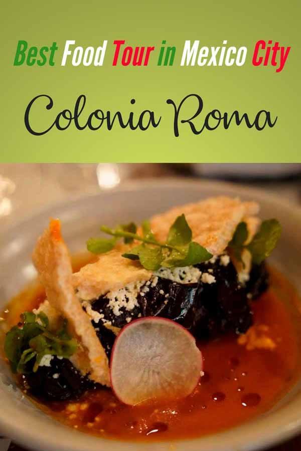 colonia roma food tour