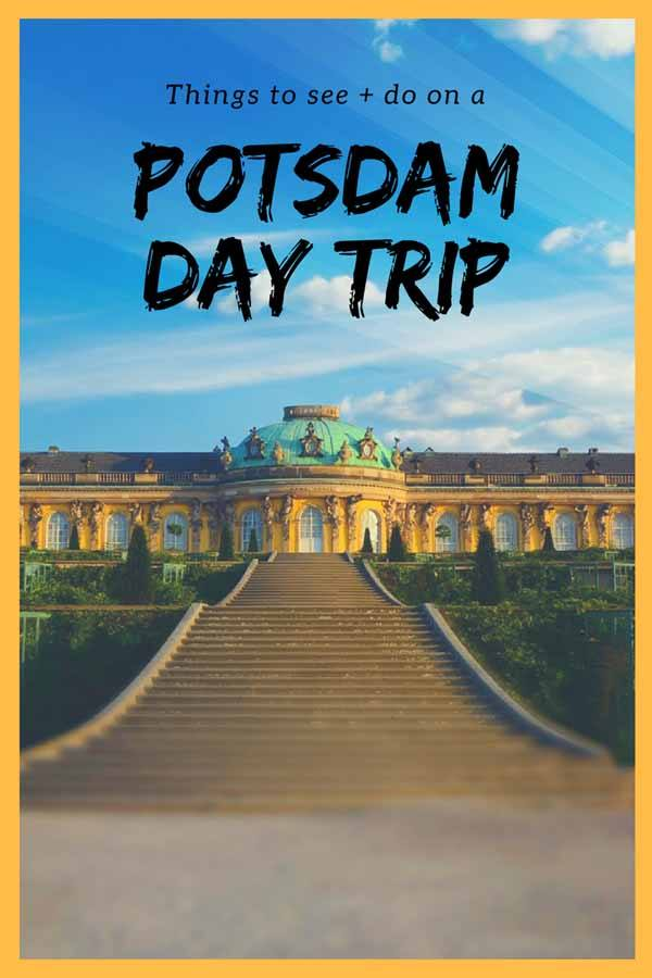 potsdam day trip pin