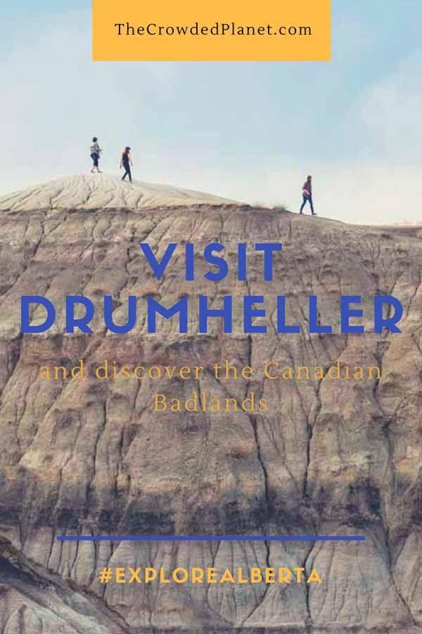 visit drumheller pin