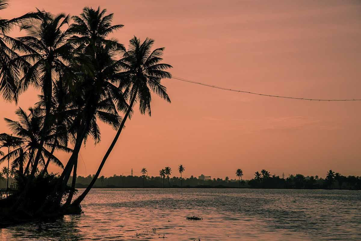 best beaches kerala sunset