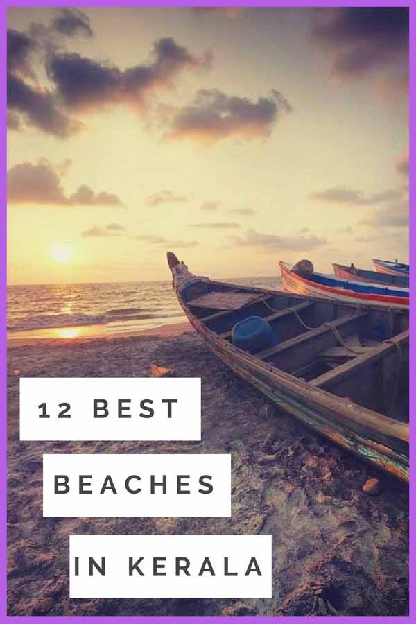 best beaches in kerala pin