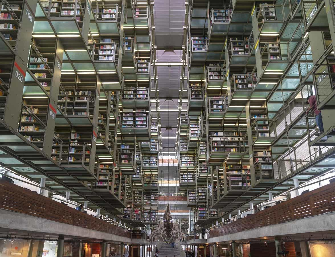 biblioteca vasconcelos mexico city