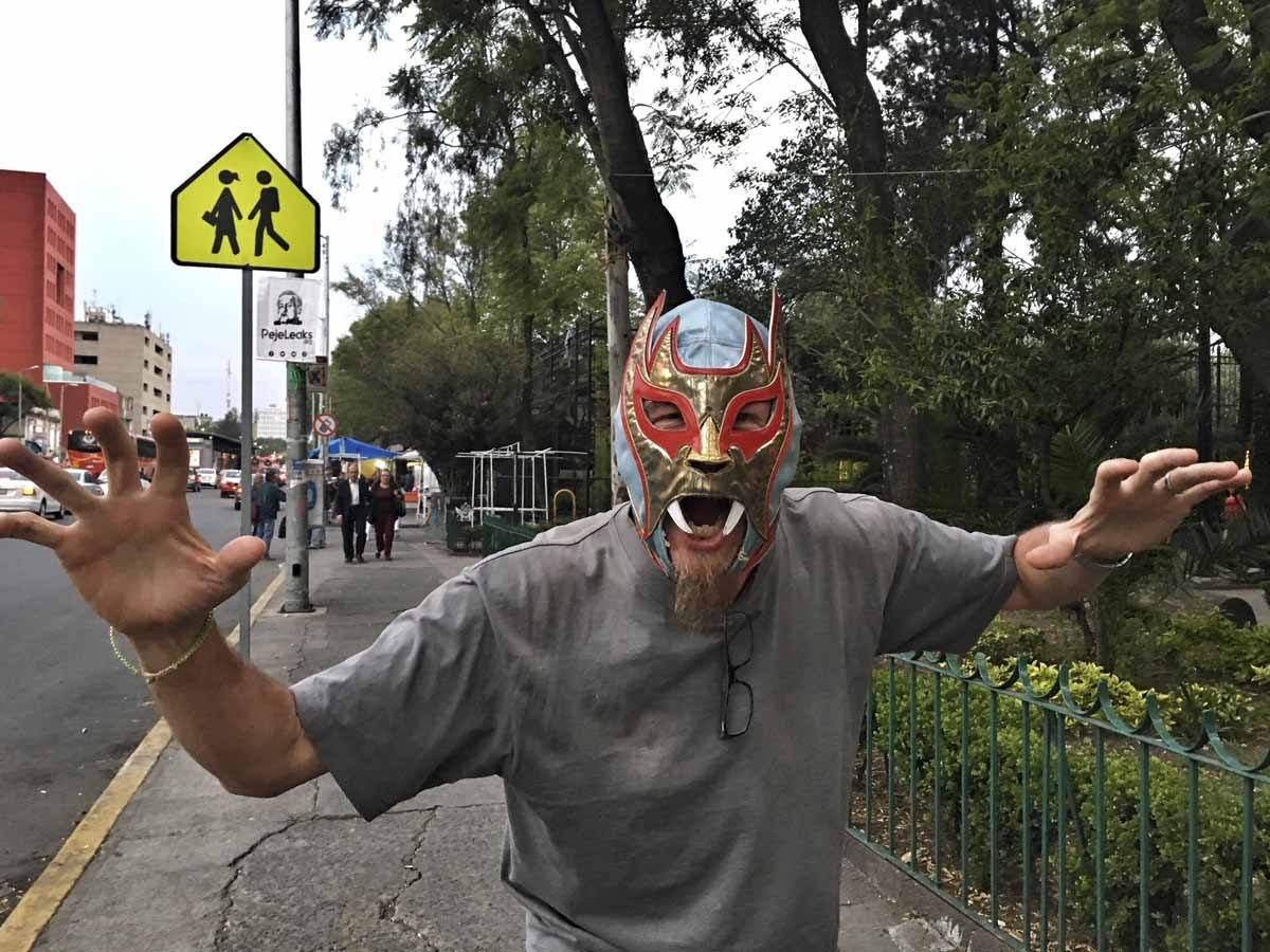 lucha libre mask mexico city