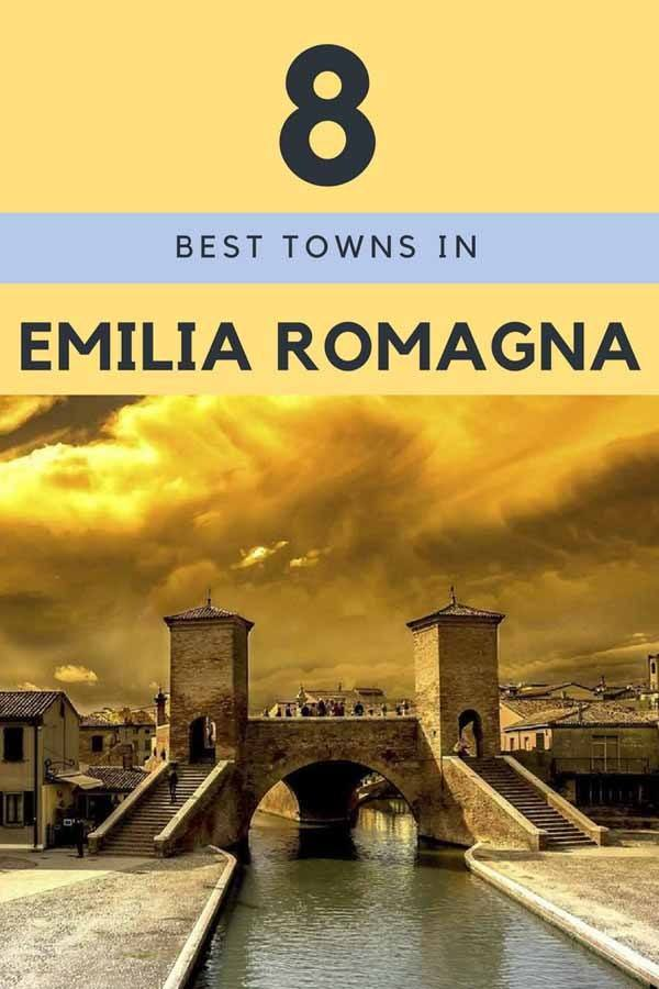 small towns in emilia romagna pin
