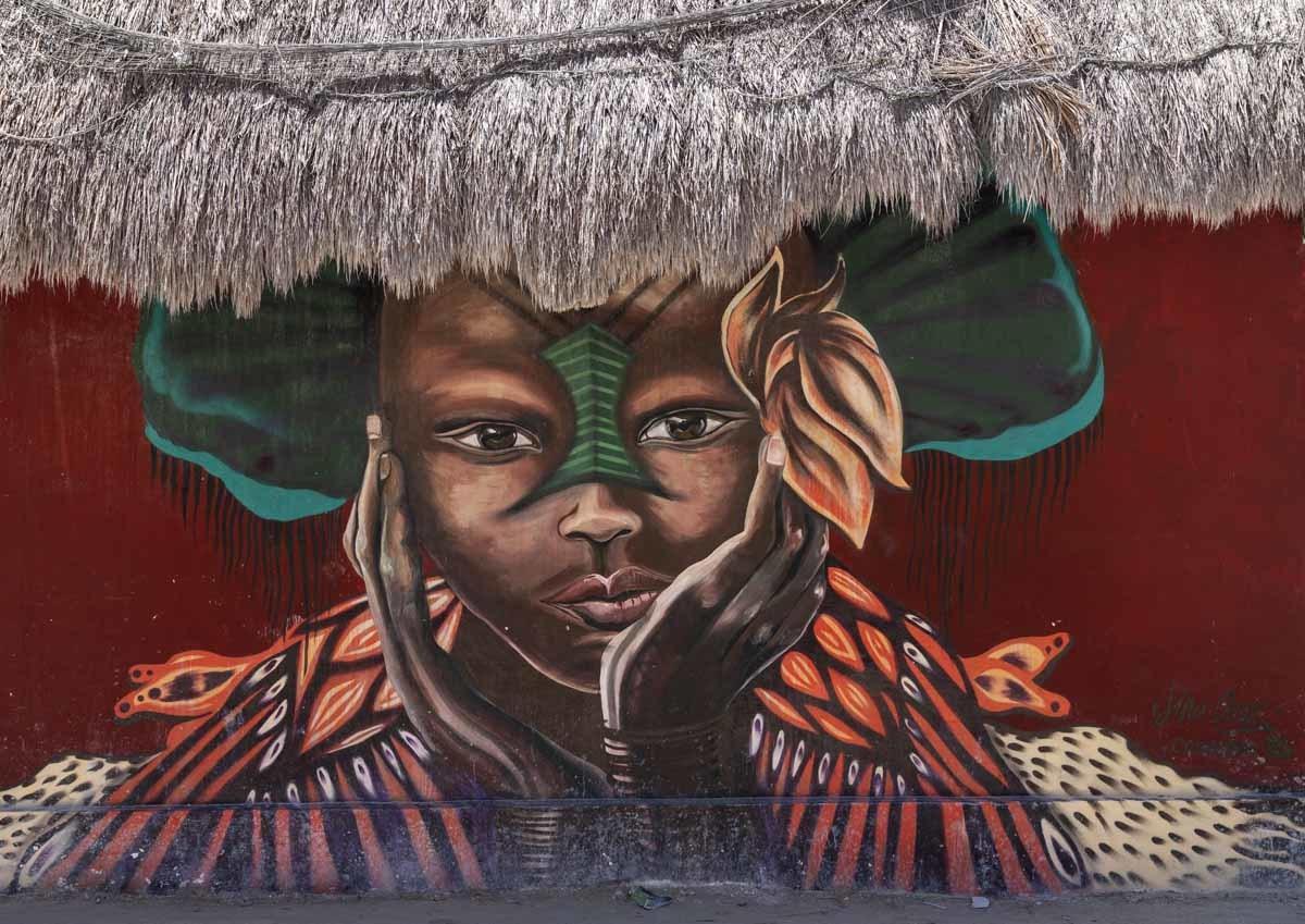 holbox murales maya