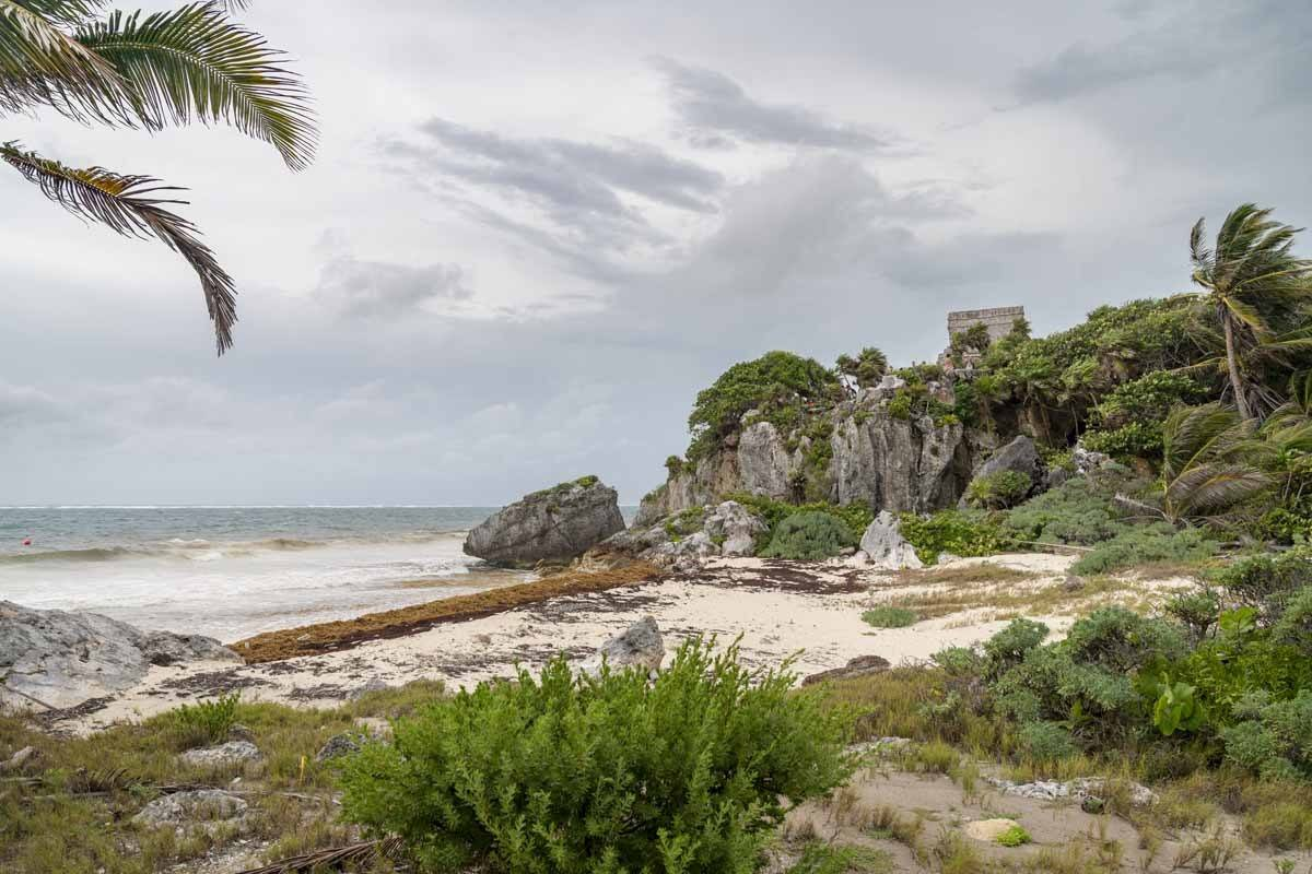 tulum beach rainy season