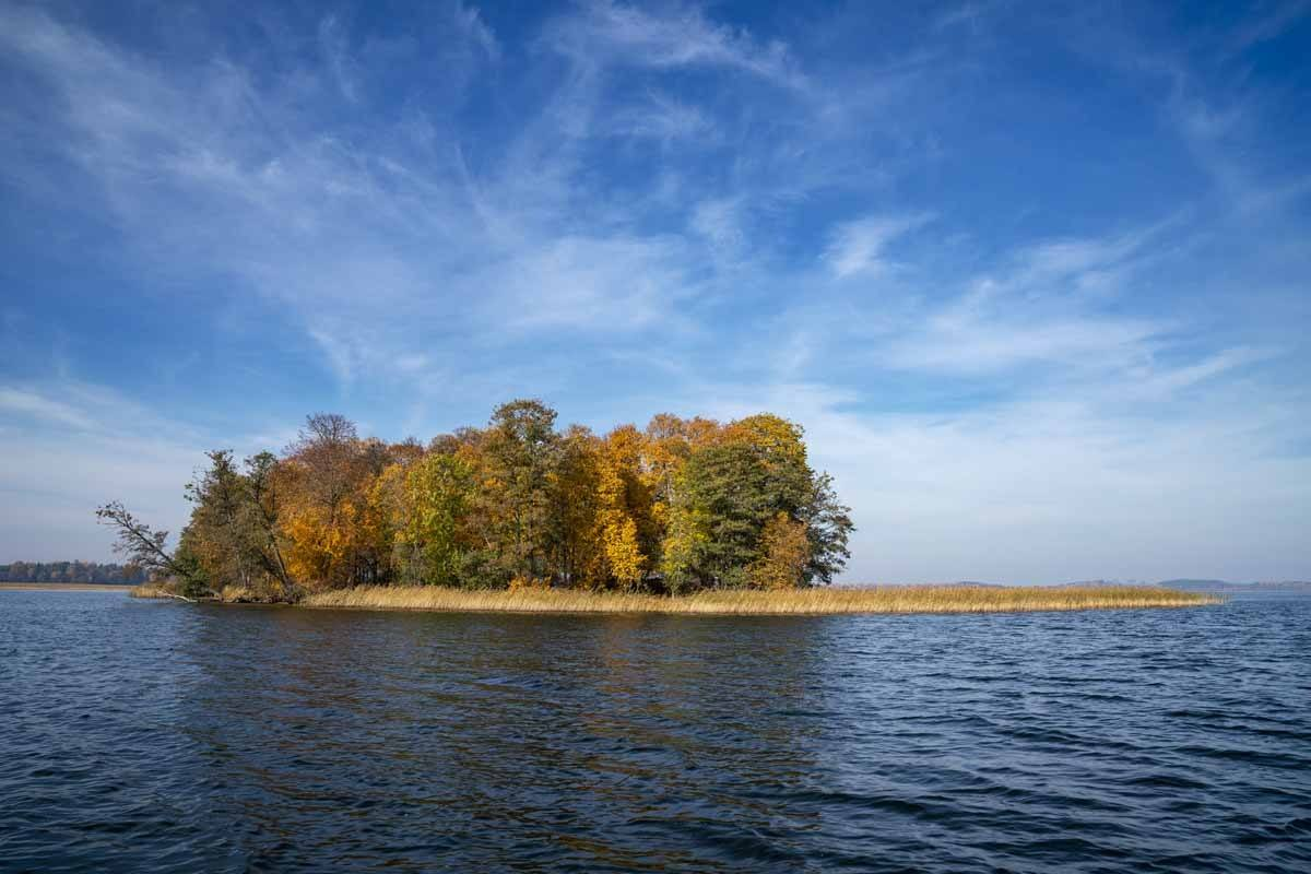 aluksne autumn island latvia