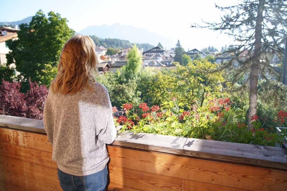 hotel azalea cavalese balcony