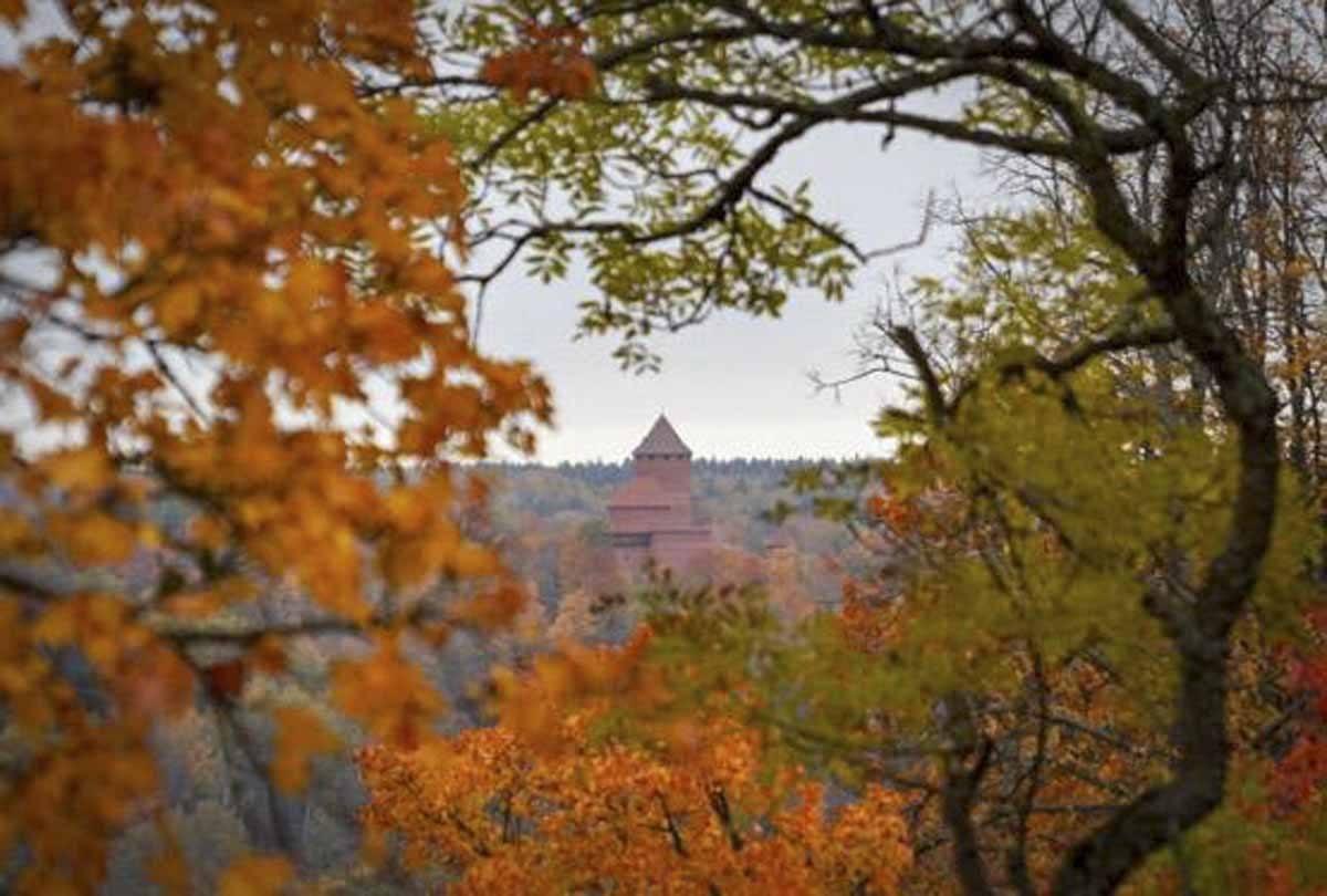 latvia autumn sigulda