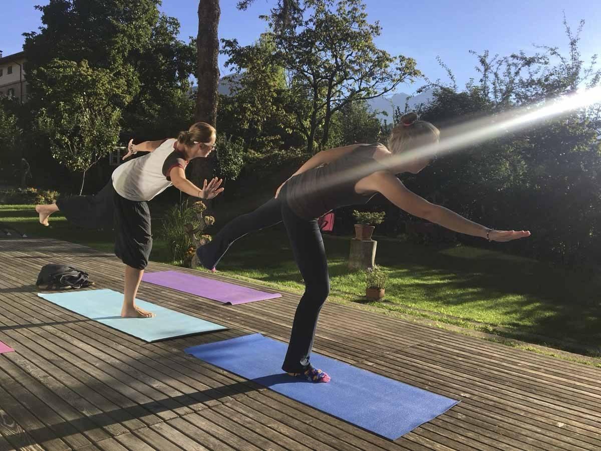 yoga hotel azalea cavalese