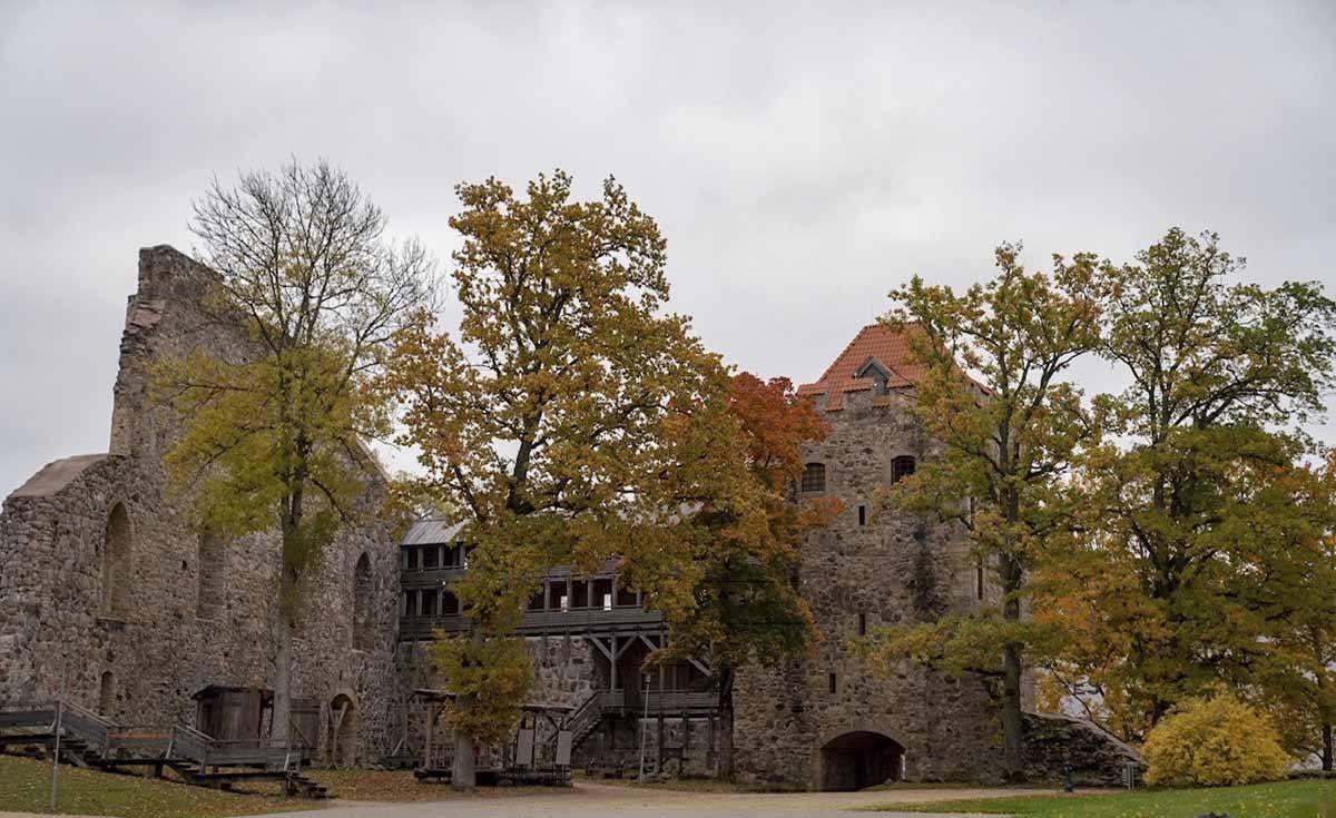 sigulda latvia medieval castle