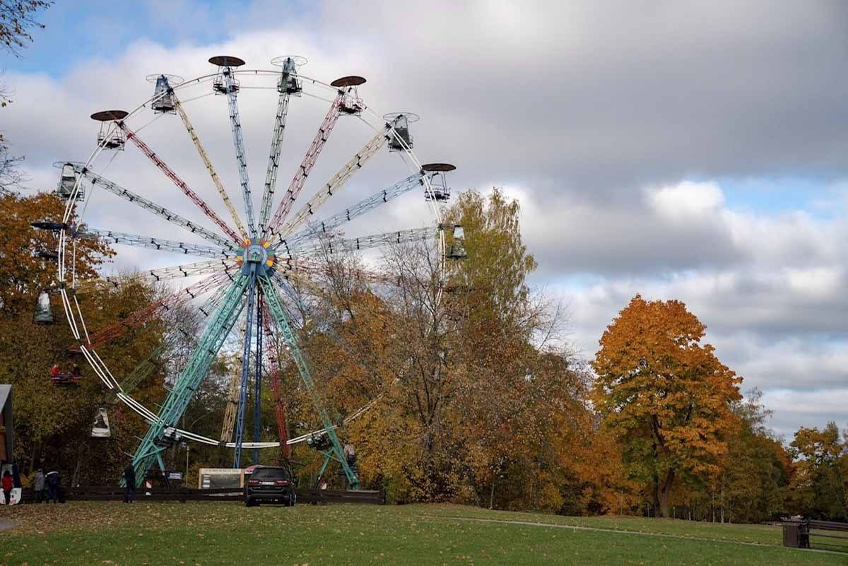 sigulda latvia panoramic wheel